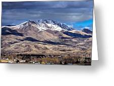 Squaw Butte Greeting Card