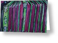 Squeezebox Greeting Card