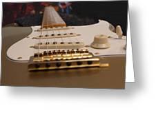 Squier Stratocastor Guitar - 3 Greeting Card