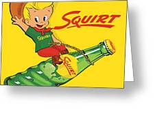 Squirt 2 Greeting Card
