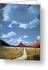 Highway 179 Greeting Card