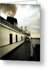 S.s. Badger Car Ferry Greeting Card