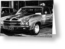 Ss Chevelle Greeting Card
