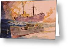 Ss Glenorchy Greeting Card