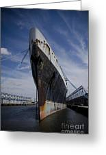 Ss United States By Jessica Berlin Greeting Card