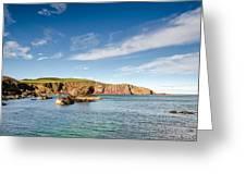 St Abbs Cliffs Greeting Card