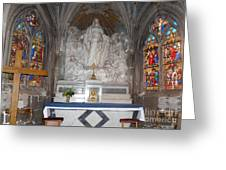 St. Aignan Church Altar Greeting Card