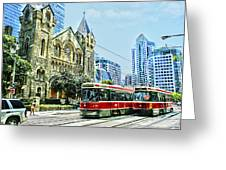 St Andrew Church In Toronto Greeting Card