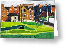 St Andrews 17 Greeting Card