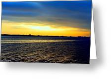 St Andrews Bay Sunset Greeting Card