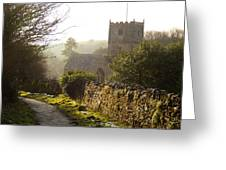 St Andrew's Church Clevedon Greeting Card