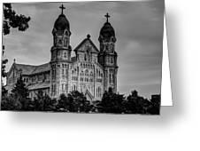 St Anne's Church Fall River Ma Greeting Card