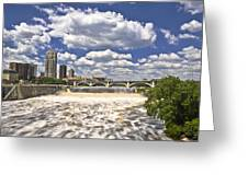 St. Anthony Falls 1 Greeting Card