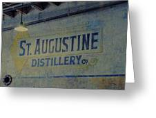 St. Augustine Distillery 2 Greeting Card