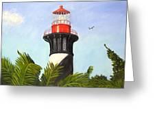 St. Augustine Light Greeting Card