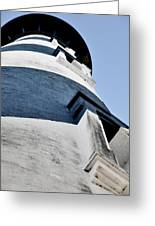 St Augustine Lighthouse - Angels And Ghosts Greeting Card by Christine Till