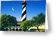 St Augustine Greeting Card