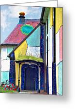 St Barbara Church - Baernbach Austria Greeting Card