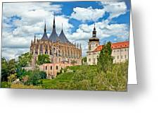 St Barbara Church Kutna Hora Greeting Card