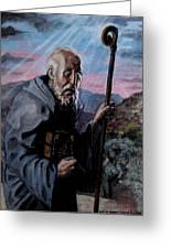 St. Benedict Greeting Card