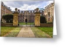 St Catharine S College Greeting Card