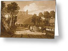 St Catherines Hill Near Guildford Greeting Card