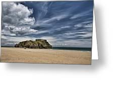 St Catherines Island 3 Greeting Card
