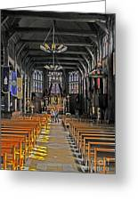 St. Catherine's Of Honfleur Greeting Card