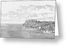 St Catherines Rock Tenby 2 Greeting Card
