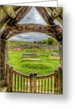 St Celynnin Graveyard Greeting Card
