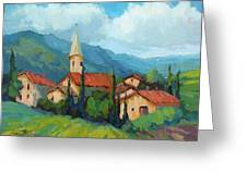 St. Colombe Provence Greeting Card