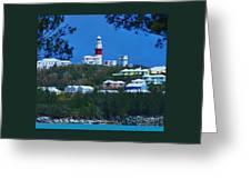 St. David's Light Bermuda Greeting Card