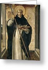 St. Dominic De Guzman Greeting Card