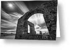 St Dwynwen's Church Greeting Card by Dave Bowman