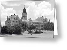 St. Edward's University Old Main I I Greeting Card
