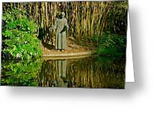 St. Francis In Nature Greeting Card