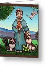 St. Francis Libertys Blessing Greeting Card