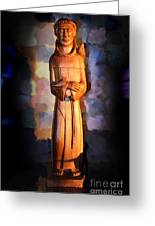 St. Francis Of Assisi By George Wood Greeting Card