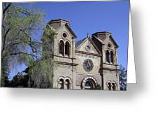 St. Francis Of Assisi Church Greeting Card