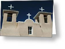 St. Francis Taos Greeting Card