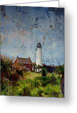 St. George Island Historic Lighthouse Greeting Card