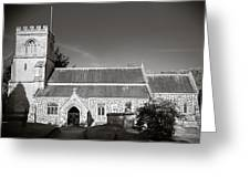 St Georges Church Preshute Greeting Card