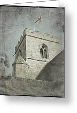 St Georges Flag  Greeting Card