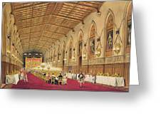 St Georges Hall At Windsor Castle Greeting Card
