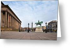 St Georges Hall, Liverpool, Merseyside Greeting Card