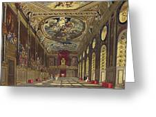 St. Georges Hall, Windsor Castle Greeting Card