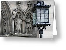 St Giles Church Statues 6600 Greeting Card