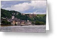 St Goar Am Rhein Greeting Card