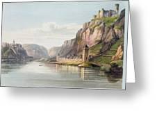 St. Goarshausen, St. Goar Greeting Card