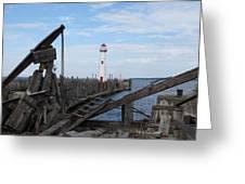 St. Ignace Lighthouse Greeting Card